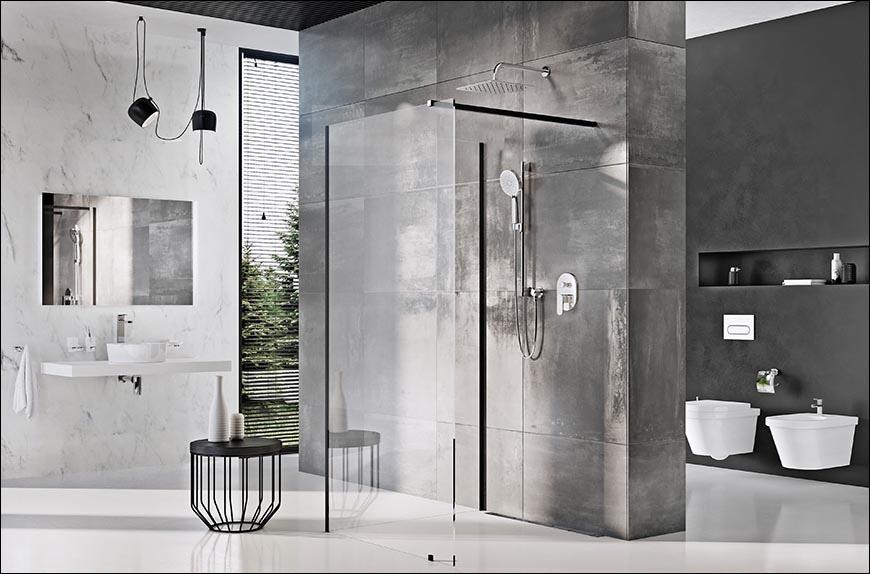 Pontos iránytű a zuhanykabinokhoz