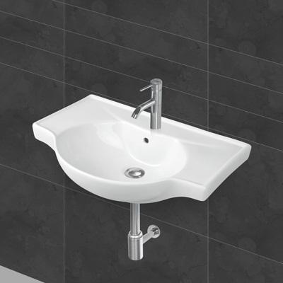 Falra szerelhető mosdó