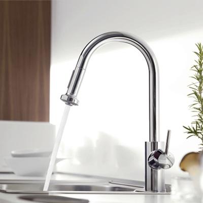Kihúzható zuhanyfejes mosogató csaptelep